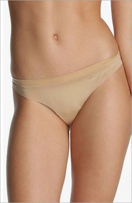 DKNY Tanga Microfibra Lisa Invisible