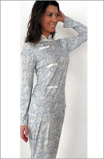 BKD Pijama Muji Viscosa Estampado Asia