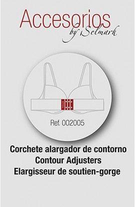 Selmark Corchete Alargador de contorno 3.8 cmts. 2uds