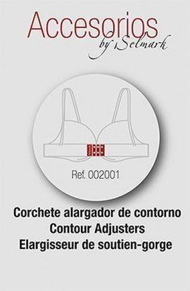 Selmark Corchete Alargador de contorno 3 cmts. 3 uds.