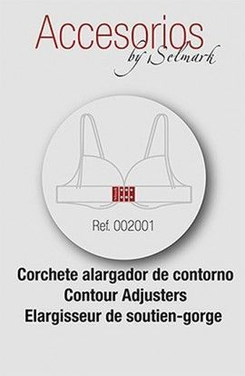 Selmark Corchete Alargador de contorno 3 cmts. 2uds