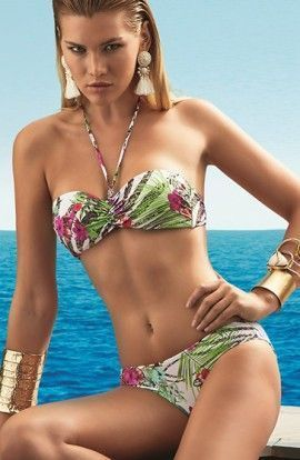 Bikini Basmar Desiree Bandeau Estampado