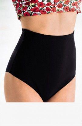 Anita Braguita Bikini Alta Cintura Negra