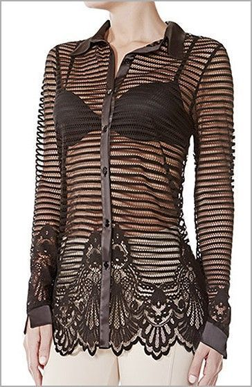 Janira Camisa Abierta Madonna Modal Transparente