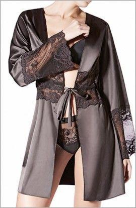 Janira Bata Kimono Raso Charm Greta Manga Larga