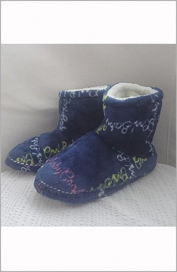 Señoretta Botas Homewear Azules Colores
