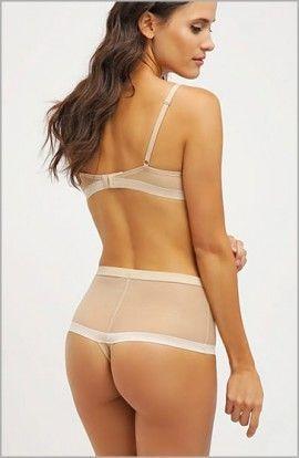 DKNY Braga tanga Alta Cintura Silk Cut
