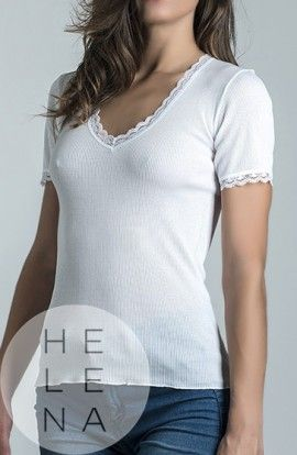 Terés Myriam Camiseta Algodón Manga Corta
