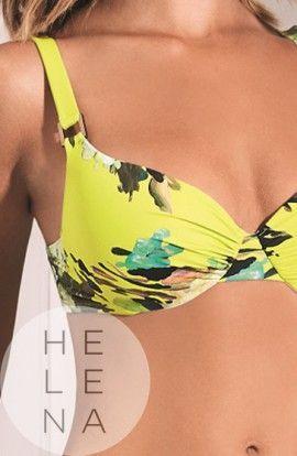 Basmar Bikini Rene Estampado Aros y Relleno Copa C