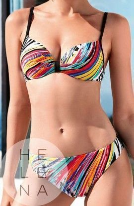 Basmar Bikini Phai Estampado Aros y Relleno Copa C