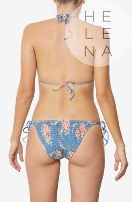 Dos Mares Bikini Chloe Estampado Cortina Sin Aros