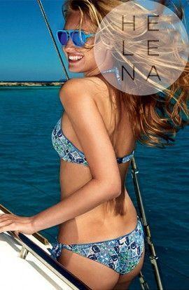 Bikini Brasileño Red Point Quilon Top