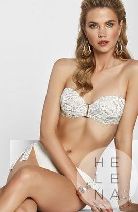 Basmar Bikini Kalinda Bandeau Blanco
