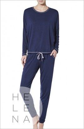 Janira Pijama Annette Modal Azul