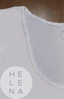 Infil Camiseta Manga Corta Algodón Blanca