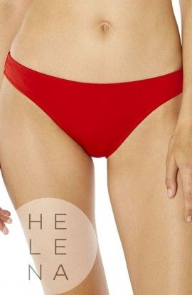 Bikini Red Point Lorain Gasa Plisada Aros Relleno