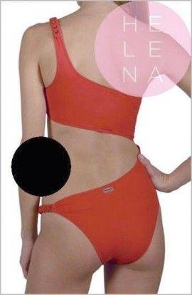 Bañador Red Point Trikini Shain Negro Valentino Copa B