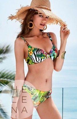 Basmar Bikini Samui Estampado Primavera Aros y Relleno