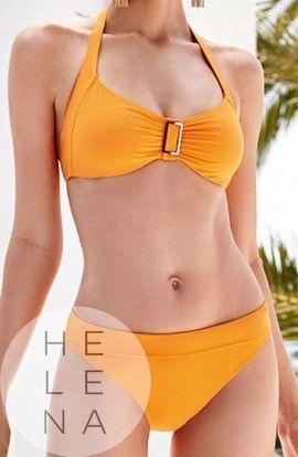Basmar Bikini Zimbaue Naranja Aros Copa C