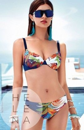 Basmar Bikini Andros Estampado Aros y Relleno Copa C