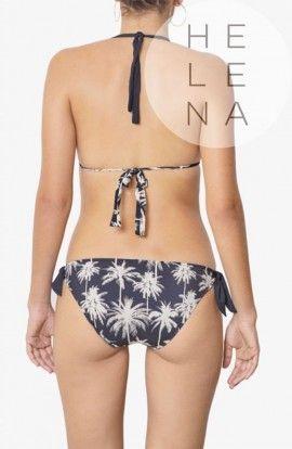 Dos Mares Bikini Filippa Halter Estampado Palm