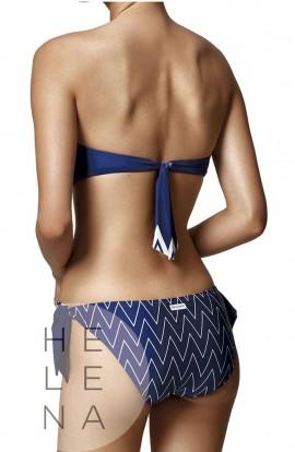 Basmar Bikini Duna Bandeau Azul