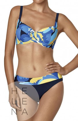 Basmar Bikini Fergie Reductor Control Fit Estampado Copa D