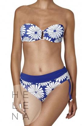 Basmar Bikini Sidney Bandeau Flores Copa C