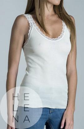 Terés Myriam Camiseta Tirantes Algodón Imperio