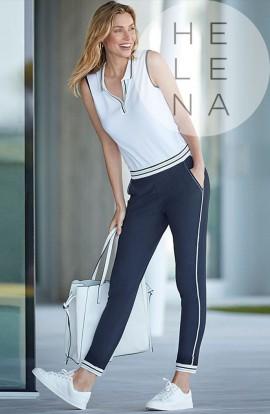 Janira Pants Chic Polo Azul Marino