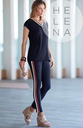 Janira Legging Chic Gold Negro
